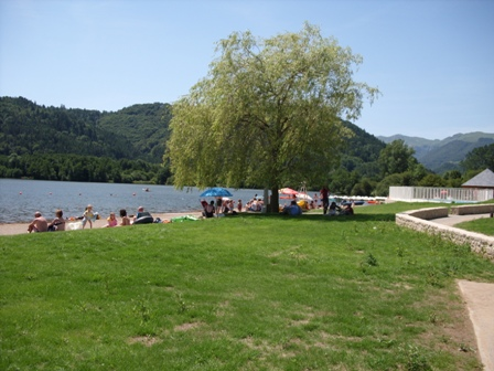 watersport op lac chambon